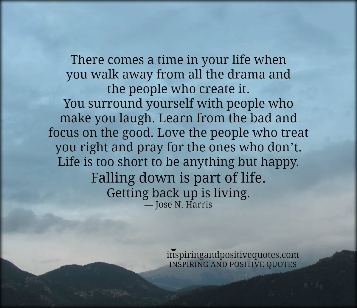 there comes a time in your life inspiring and positive